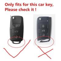 Funny Soft TPU Car Key Case Full Cover For VW Volkswagen Skoda SEAT Leon Altea