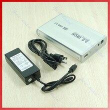 USB 2.0 SATA 3.5 дюймов HDD жесткий картридж корпус диск внешний Box