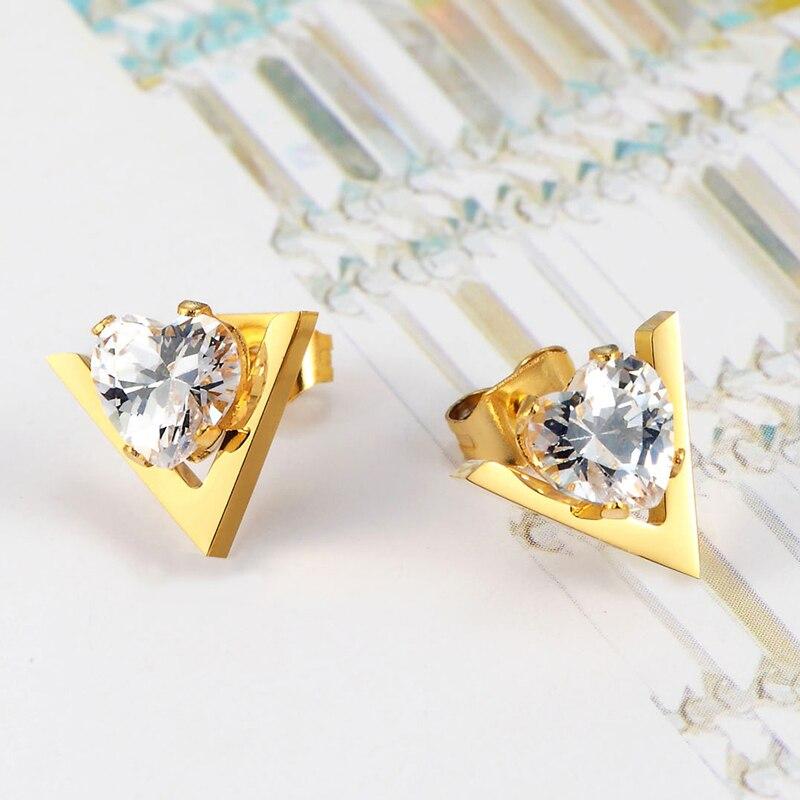 Ζεστό στυλ πώλησης χαριτωμένο σχήμα V - Κοσμήματα μόδας - Φωτογραφία 3