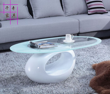 Creative tea table. Toughened glass tea table.. The oval table of the lacquer that bake, small tea table. toughened glass tea table stainless steel small square table the sofa side table flower
