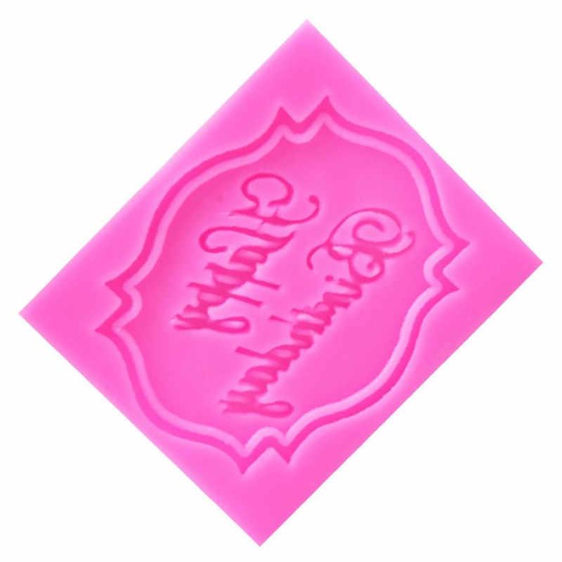 TTLIFE Christmas Letter รูปแบบแม่พิมพ์ซิลิโคนช็อกโกแลต Fondant เค้กตกแต่งเครื่องมือ Cupcake สบู่เบเกอรี่เครื่องมือ