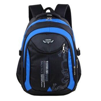 Grade 1-6 children school bags for teenagers boys girls big capacity school backpack waterproof satchel kids book bag mochila Kids & Baby Bags