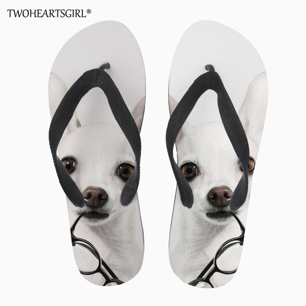 Straightforward Twoheartsgirl 2018 Fashion Mens Wear-resistant Flip Flops Soft Comfortable Summer Cute Dogs Men Flip-flop Street Casual Walking Sophisticated Technologies Shoes