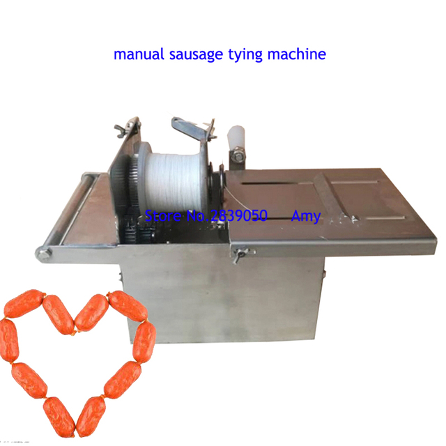 Aliexpress com : Buy Manual sausage tying machine commercial sausage making  machine with diameter of 32 mm from Reliable Food Processors suppliers on