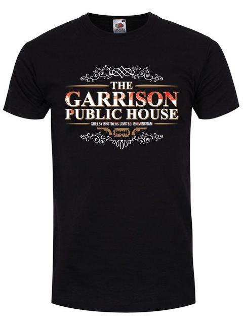 baf47a927103 2019 Fashion Hot sale The Garrison Public House T-Shirt Inspire par Peaky  Blinders Homme