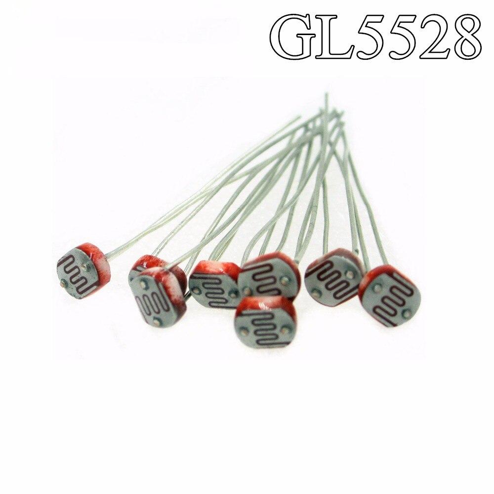 GL5528 Lot de 2 Light dependent photoresistor
