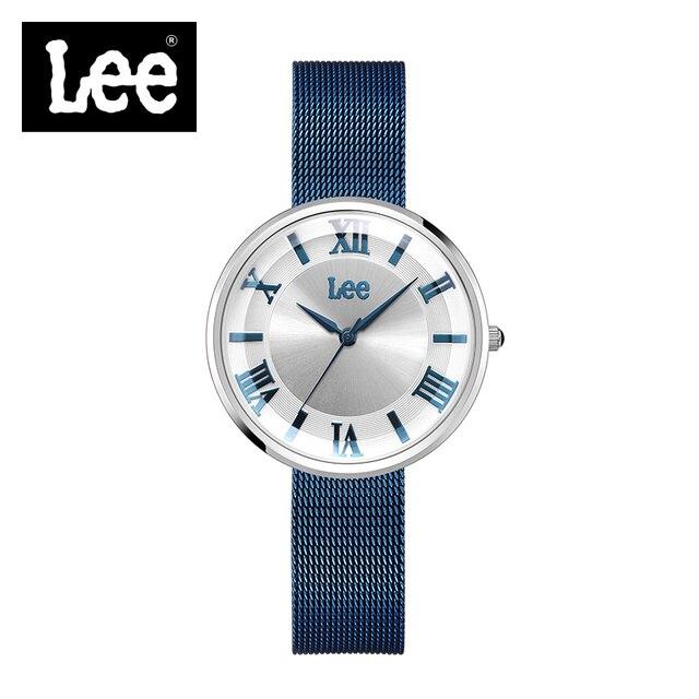 893be2c57fe00e Lee Famosi Luxury Quarzo Donne Orologi di Marca di Moda Bling Ladies Watch  Orologio Relogio Feminino