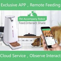 Fast Delivery Automatic Pet Feeder Intelligent Machines With LCD Light Dispenser Electronic Timer High Quality 3 Standards