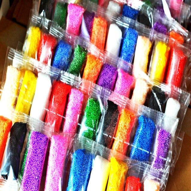24 цветов 5 г/пакет Воздушной Сушки DIY Ковкого Fimo Полимерная Пластилина Playdough Инструменты Мягкие Блоки Набор Пластилина Полимерная Глина