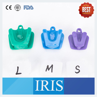 3 Different Sizes 50pcs Silicone Rubber Cheek Retractor Dental Mouth Opener Retractor Mouth Prop Bite Block