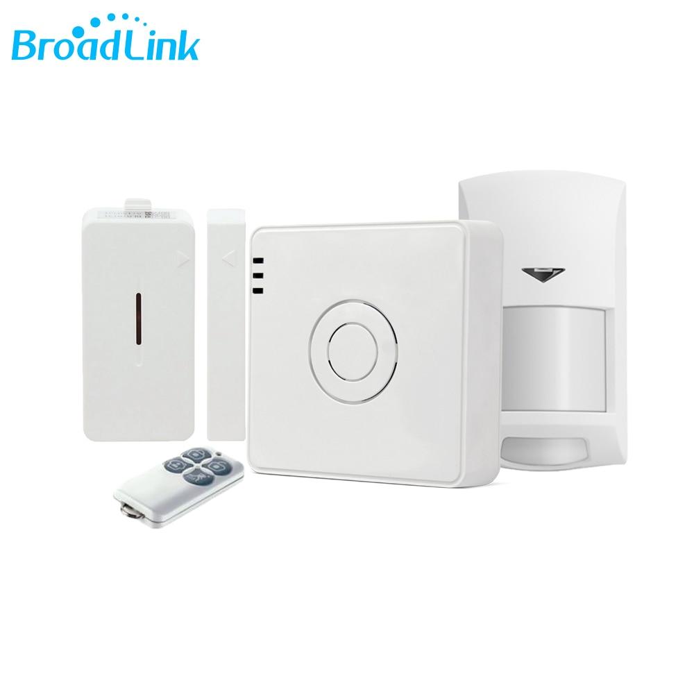 Broadlink 2017 New Design S2 HUB Security Suit Security Alarm Detector Motion Sensor Remote Control For Home Automatio