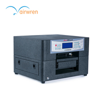 Digital A4 mini size t shirt printing machine with 6 color CISS for clothes