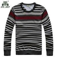 Original AFS jeep Sweater 2018 The New Fall Winter Men Sweater Pullover Men Stripe Men's Casual Slim Sweater h99