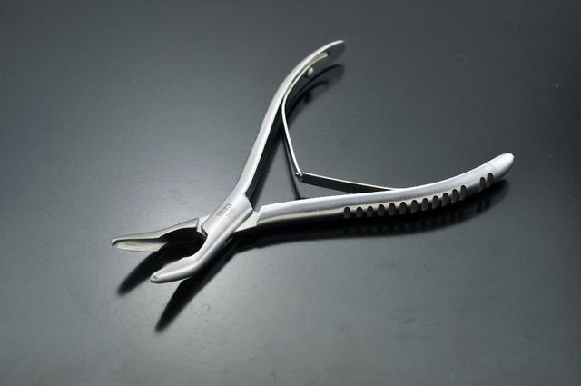 R16 instrumento dental de acero inoxidable recta sissor hueso rongeur fórceps herramienta de equipo dental dentista diente dientes de la dentadura