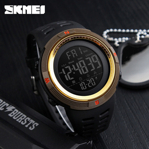Image 4 - SKMEI Brand Men Sports Watches Fashion Chronos Countdown Mens Waterproof LED Digital Watch Man Military Clock Relogio Masculino