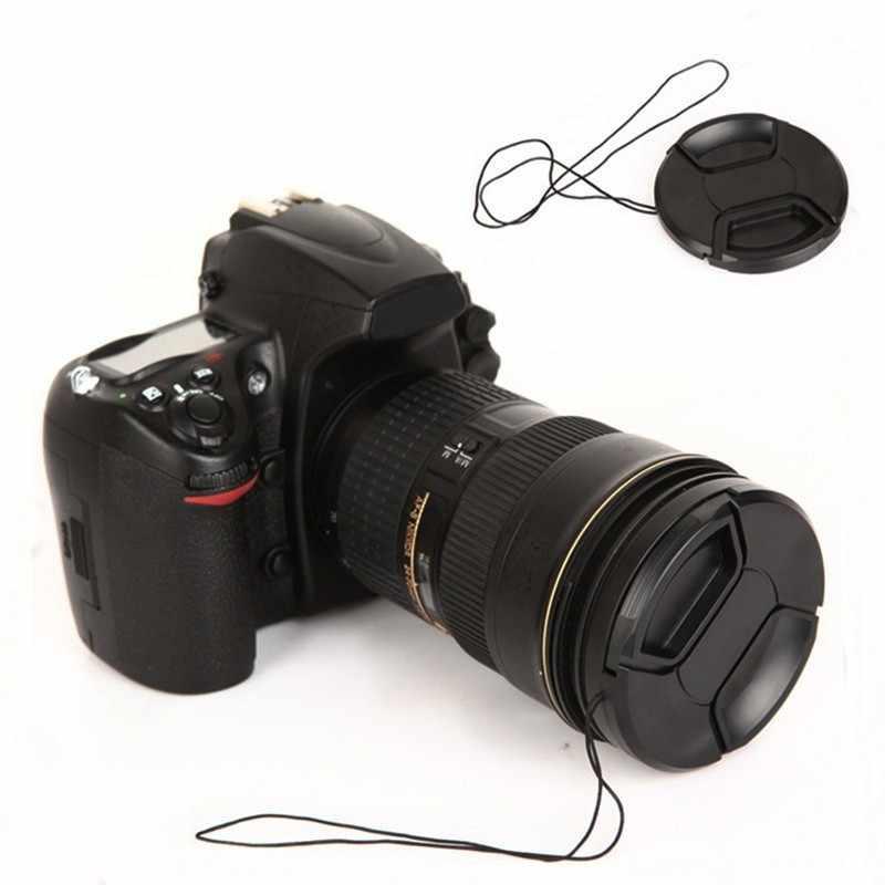 Centrum szczypta z przodu obiektywu kamery Pokrywa ochronna z Anti-lost dla fujifilm FinePix JZ100 JZ200 JZ300 JZ305 JZ500 JZ505 s1