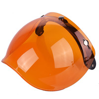 Universal Flip Up Lens Bubble Visor Face Shield Mask For TORC LS2 Vintage Retro Motorcycle Helmet