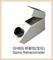 gh955 Gemelogical Gemstone Gem Refractometer with Built in Light 1.30 1.81 RI Range, diamond testing machine