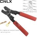 CNLX LX 202B Multi funktionale crimpen zangen für crimpen nicht isolierte terminal und schneiden drähte manuellen werkzeug netzwerk zange-in Zangen aus Werkzeug bei