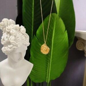 Image 4 - 925 sterling silber kostenloser eule gold halskette einfache mode design persönlichkeit eule anhänger halskette für frauen 2018 edlen schmuck