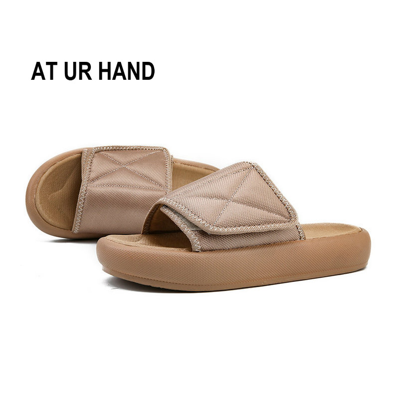 At Ur Hand Men Summer Sandals Fashion Non-slip Out Door Slippers Men Leisure Beach Shoes Size 39-44 Driving A Roaring Trade Men's Shoes