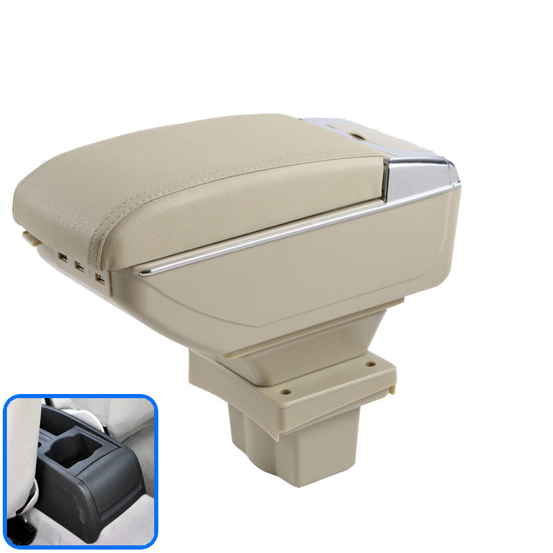 For Skoda Octavia A5 Yeti Armrest Box Central Store Content Box Storage Interior Car-styling Decoration Accessories Parts