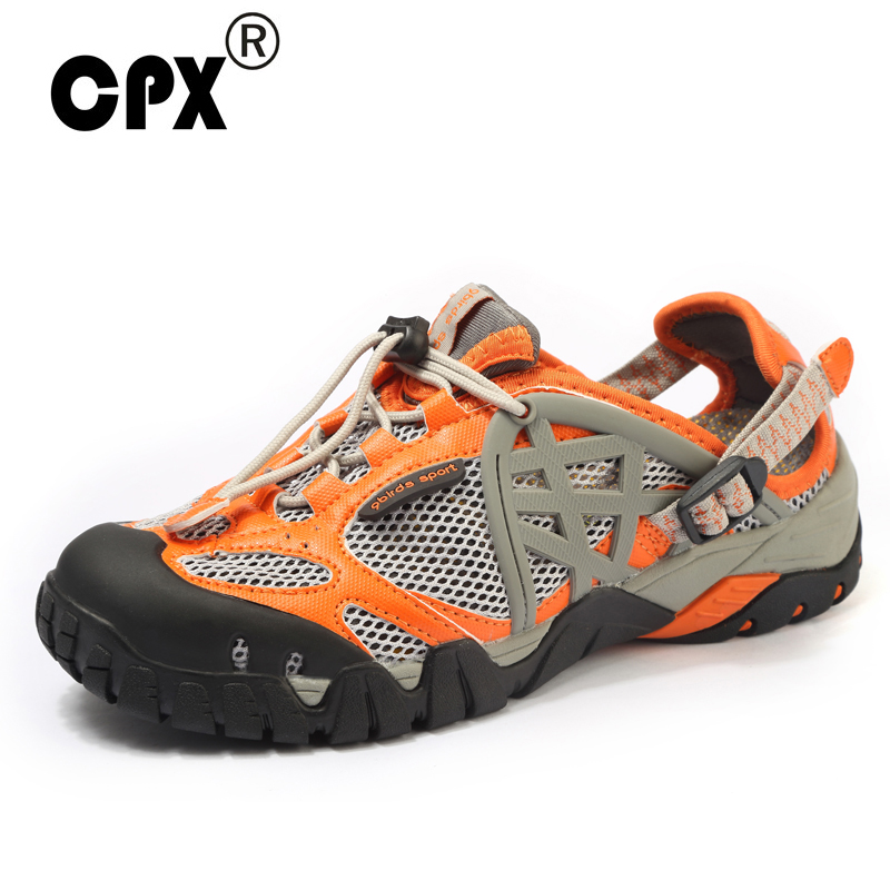 CPX Aqua Shoes Men Outdoor Sneakers Breathable Hiking Shoes Men Women Outdoor Hiking Sandals Men Trekking Trail Water Shoes spring summer water sneakers sandals breathable outdoor mens shoes aqua water sneakers blue fishing shoes men walking sandals