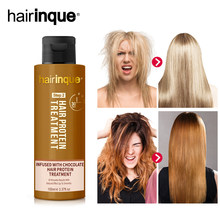 HAIRINQUE New 12%chocolate brazilian keratin hair treatment for straightening hair repair damaged best for hair care 3.28 sale(China)