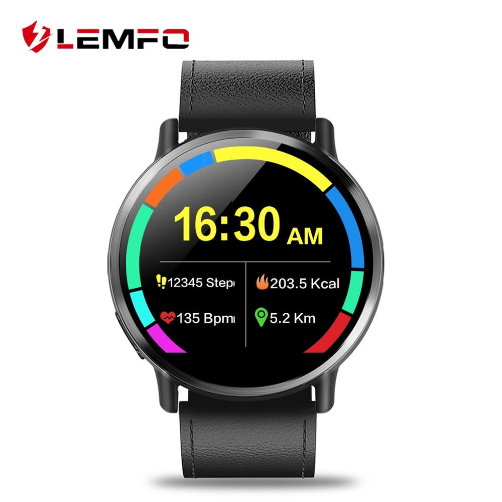 LEMFO LEM X Android 7 1 4G 2 03 900Mah 8MP Camera Luxury Smart Watch Phone