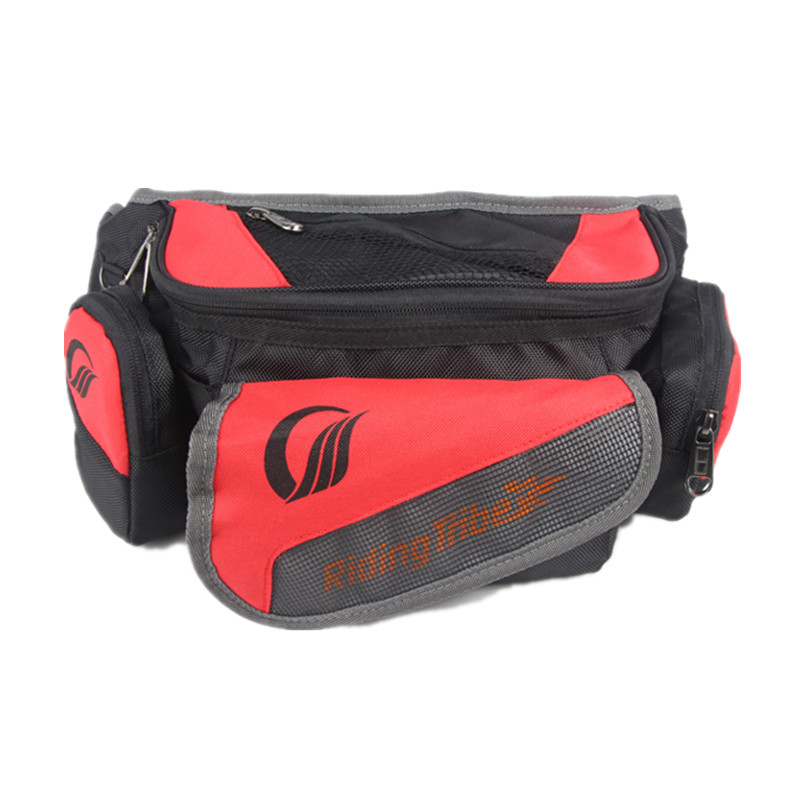 Riding Tribe Motorcycle Reflective Backpack Waist Bag Motorbike Multifunction Travel Luggage Shoulder Tool Bag Large Capacity pro biker motorcycle saddle bag pattern luggage large capacity off road motorbike racing tool tail bags trip travel luggage