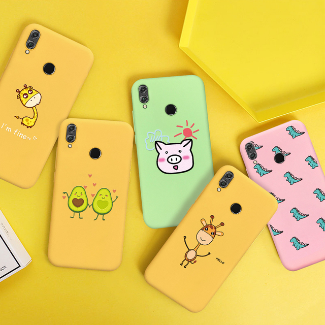 Soft TPU Pattern Phone Case For Huawei 4