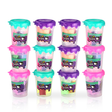 12pcs New arrival shaker so slime make your own diy soft clay antistress plasticine kit para fazer birthday gift