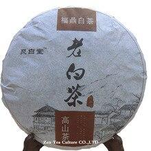 Promoção 2010 Fujian Fuding Chá Branco Velho Bolo de Chá 300g Shoumei Shou Chá Bai Cha Comprimido Tigela Branca Meigift Caixas Qs(China (Mainland))
