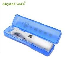 Кто заботится 30 м ультра тонкий плоский провод многоразовый держатель зубной нити Подарочный ящик межзубной очиститель Микро Воск Мятная зубная нить er