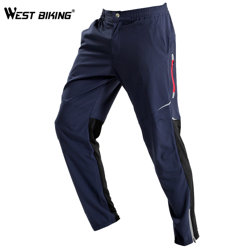 WEST BIKING Cycling Pants Men Bicycle Breathable Bike Trousers Pants Ropa Ciclismo Spring Summer MTB Bicycle Cycling Pants west biking mtb road bike jacket 3d gel padded bicycle pants breathable quick dry cycling clothing bicycle bike jersey pants