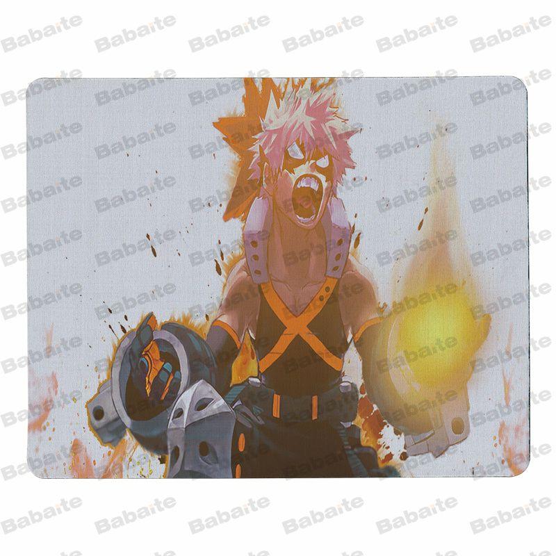 Babaite Прохладный Новый Boku без герой большой Мышь pad PC компьютер коврик Размеры для 18x22 см 25x29 см резиновая Мышь коврики