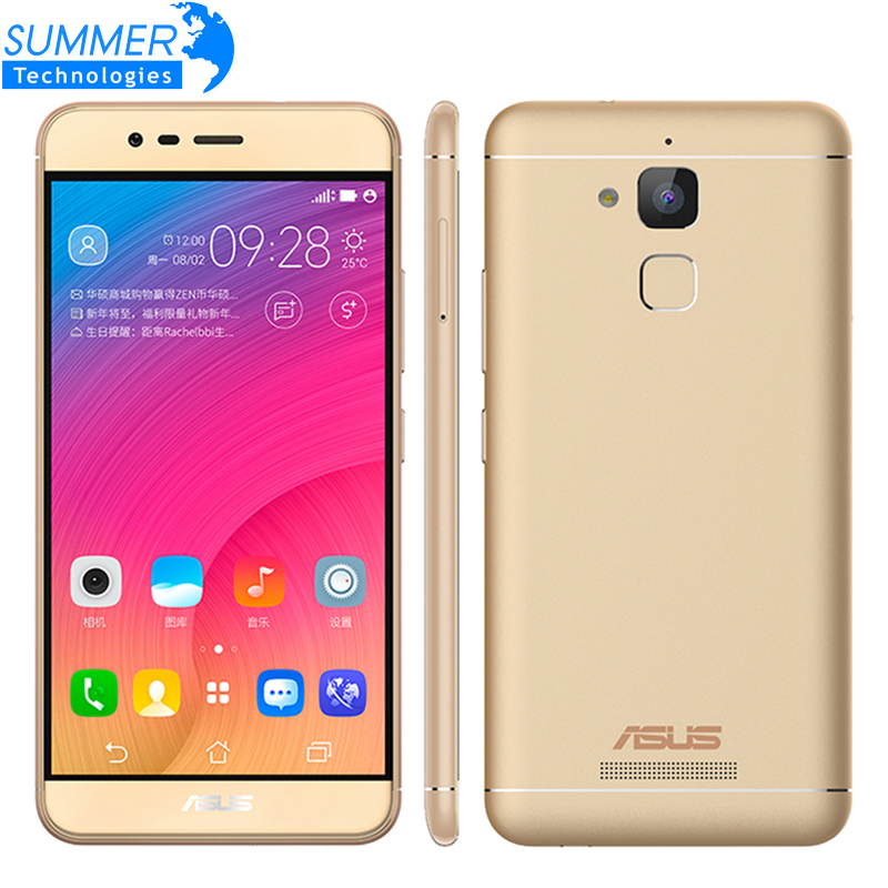 Original ASUS Zenfone Pegasus 3 X008 4G android 6.0 smartphone Fingerprint ID Quad core 5.2'' 4100 mAh 13MP moible phone