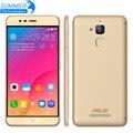 Original asus zenfone pegasus 3x008 4g android 6.0 teléfono inteligente de identificación de huellas dactilares quad core 5.2 mah 13mp ''4100 moible teléfono