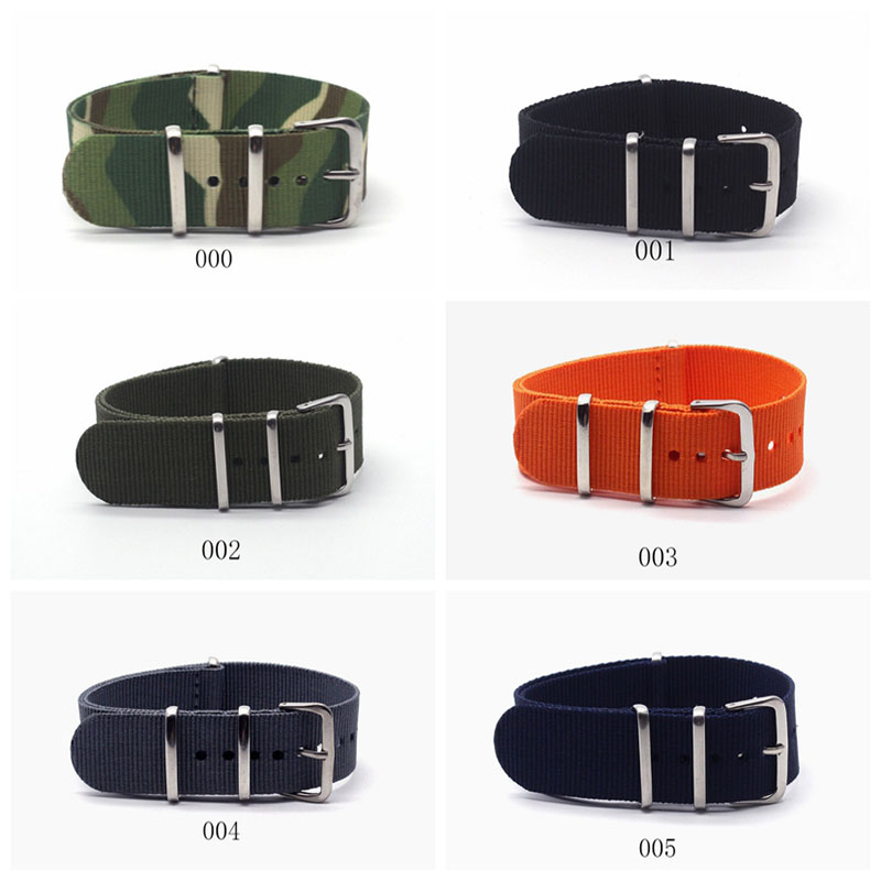 20mm Watchband High Quality Hot Sale Fashion Nylon Nato Watch Strap Band Lady Man Woman Boys Girls Unisex Watchstrap Belts wholesale price high quality fashion high quality stainless steel watch band straps bracelet watchband for fitbit charge 2 watch