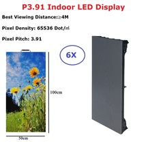Indoor RGB P3.91 Led Video Wall Panel Rental Display Screen For Stage Concert Advertising Professional Lighting