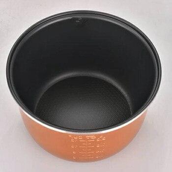 2L 3L 4L 5L 6L più recente tecnologia oro riso fornello pentola serbatoio in lega di alluminio per intelligente fornelli di riso