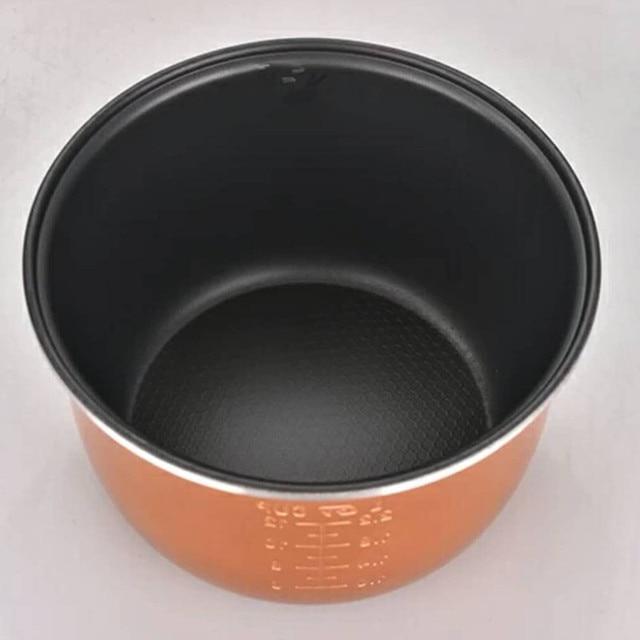 2L 3L 4L 5L 6L أحدث التكنولوجيا الذهب جهاز طهي الأرز وعاء سبائك الألومنيوم خزان ل ذكي جهاز طهي الأرز s وعاء خزان