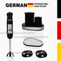 850W GERMAN Original Motor Technology Electric Spiralizer With 2 Blades Recipe Book Black