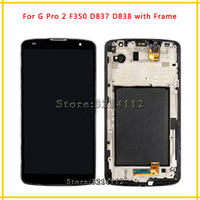 LCD Display Screen With Touch Screen Digitizer Assembly For LG Optimus G Pro 2 F350 D837