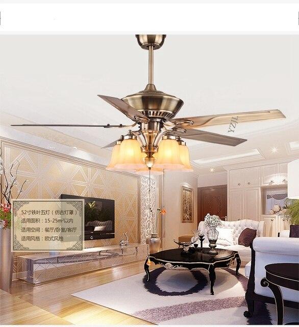 Minimalistische eetkamer hanger plafond ventilator licht woonkamer ...
