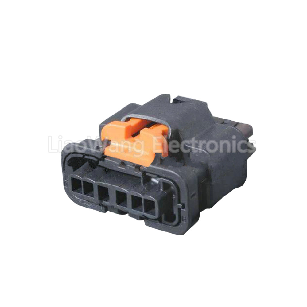 6 pin automotive connector wiring harness connector plug with terminal  dj7065a-2 8-21 6p