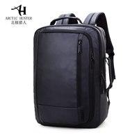 New Men S Black Backpack Oxford Laptop Bag Waterproof Large Capacity