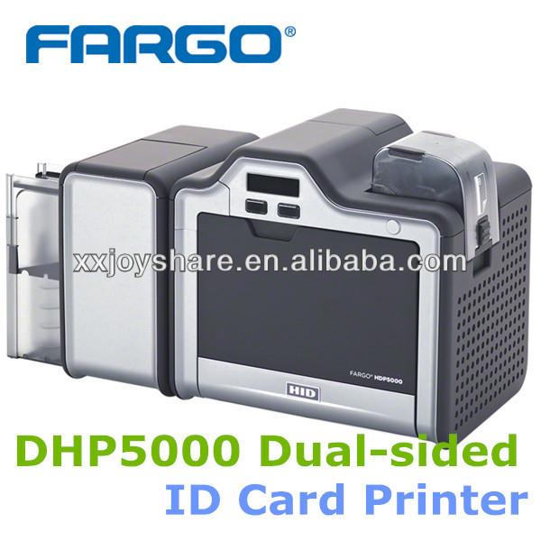 Impresora de tarjetas HDP5000 Doble lados de IDENTIFICACIÓN de plástico