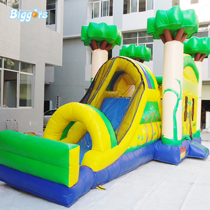 Suitable Size Portable Inflatable Kids Party Bouncy Castle With Slide For Sale suitable size portable inflatable kids party bouncy castle with slide for sale