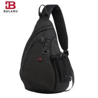 BALANG Men Crossbody Bag Casual Large Capacity Women Messenger Bags Unisex Famous Brand Travel Shoulder Bag